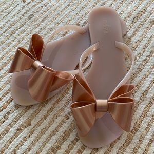Melissa Bow Thong Sandals